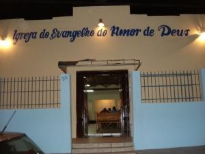 A IGREJA DO EVANGELHO E DO AMOR DE DEUS